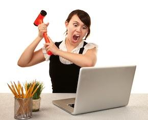 website-work-frustrated