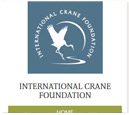 Mobile View of International Crane Foundation's Home Page in thumbnail