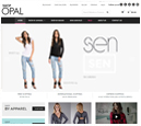 Desktop View of Shop Opal's Home Page in thumbnail