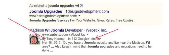 Joomla Upgrades UI