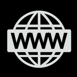 WWW on a globe, icon