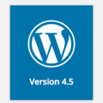WordPress 4.5 is Out