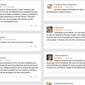 The Reviews on Webstix Are In!