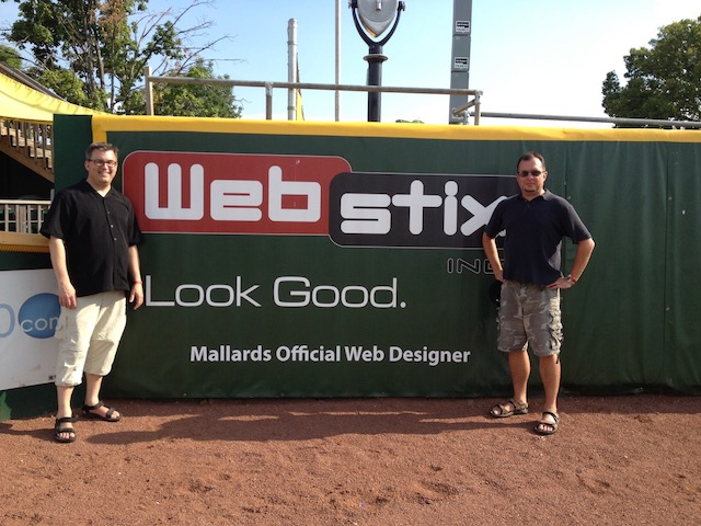 Webstix Outfield Sign