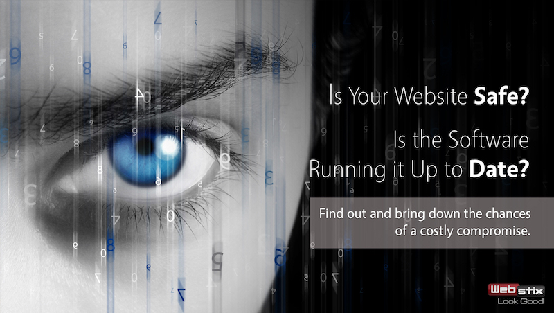 Is your website up to date and safe?