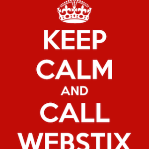Keep Calm and Call Webstix