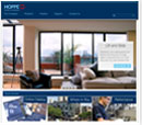 Desktop View of HOPPE North America's Home Page in thumbnail