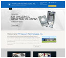 Desktop View of VTI Vacuum Technologies, Inc.'s Home Page in thumbnail