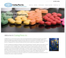 Desktop View of Coating Place's Home Page in thumbnail