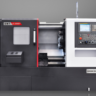 Portfolio of Samsung Machine Tools CNC Website