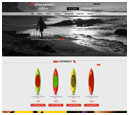Desktop View of Whaleback Paddleboard's Home Page in thumbnail