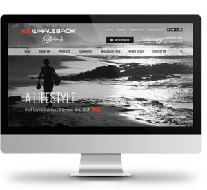 Whaleback Paddleboards Website