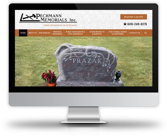 Pechmann Memorials desktop