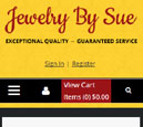 Mobile View of Jewelry by Sue's Home Page in thumbnail