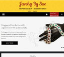 Tablet View of Jewelry by Sue's Home Page in thumbnail