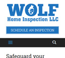 Mobile View of Wolf Home Inspection's Home Page in thumbnail