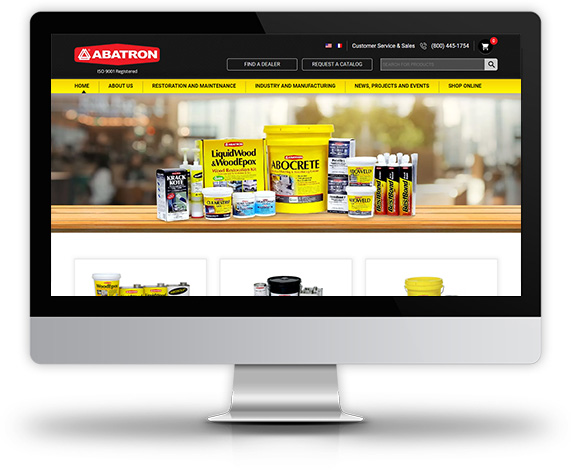 Abatron Desktop View
