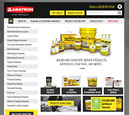 Desktop View of Abatron Inc. Home Page in thumbnail