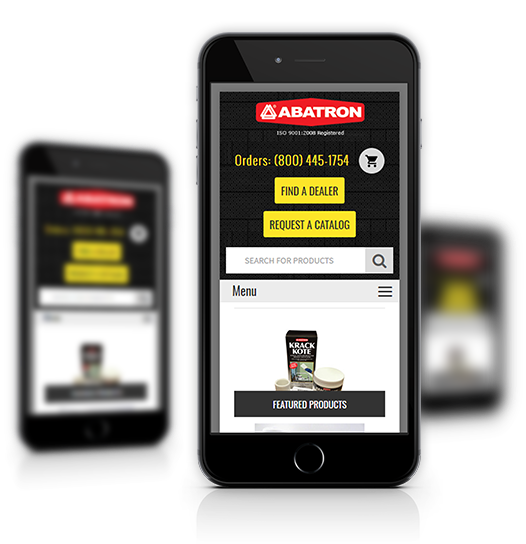 Abatron Mobile View