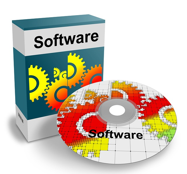 Software CD with Cover