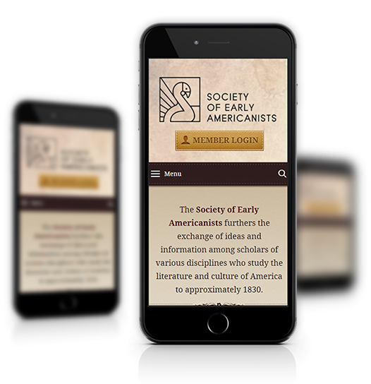 Society of Early Americanists Mobile View