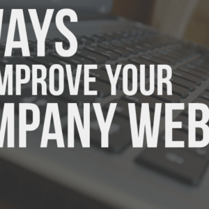16 Ways to Improve Your Company Website