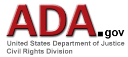 ADA.gov - US Dept of Justice - Civil Rights Division