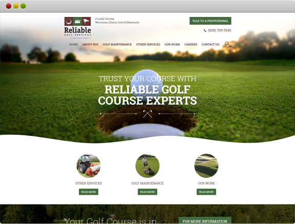 Reliable Golf Service