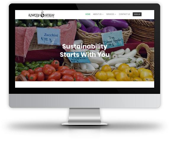 Earth Stew Compost Services, LLC Desktop View