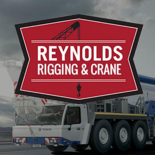 Portfolio of Reynolds Rigging & Crane Service