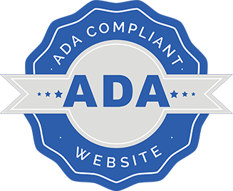 ADA compliant web design logo