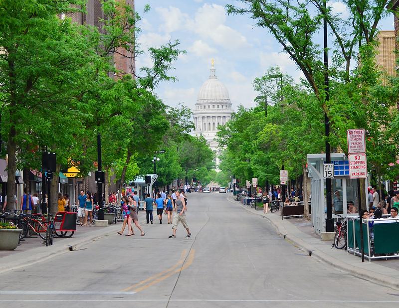State Street and Monroe Street