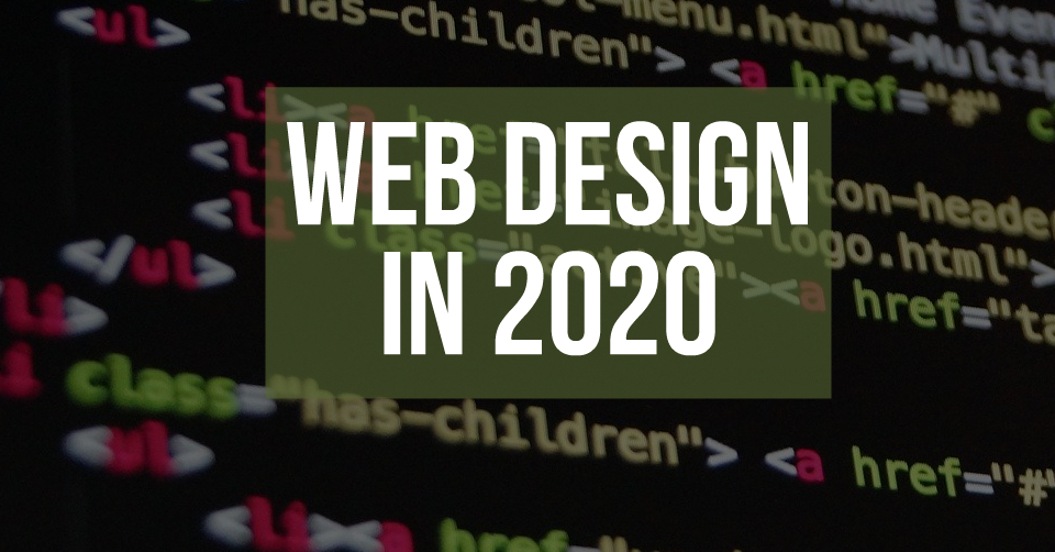 Web Design in 2020