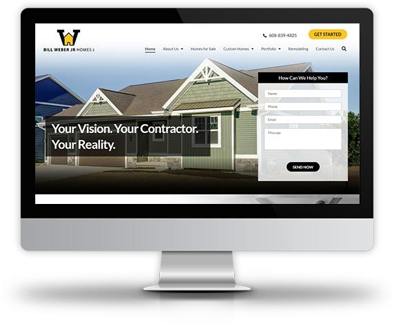 Weber Homes Desktop Image