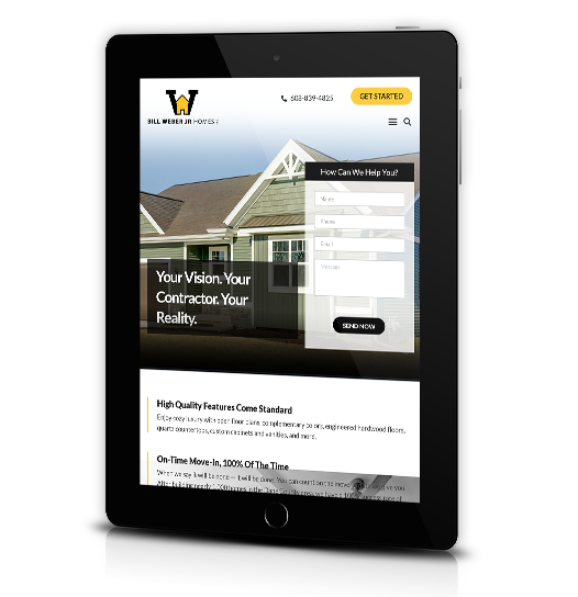 Weber Homes Tab View Image